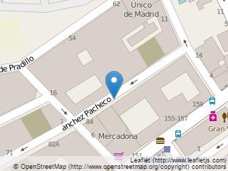 Plano de acceso de Hotel Confortel Suites Madrid