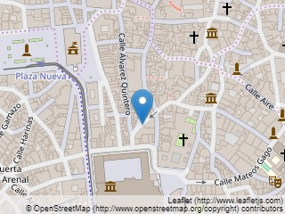 Plano de acceso de Eme Catedral Hotel