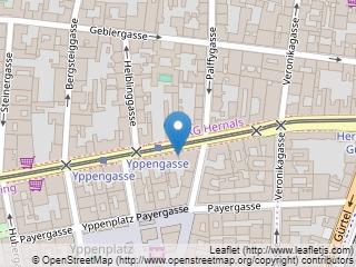Plano de acceso de Hotel Eurostars Vienna