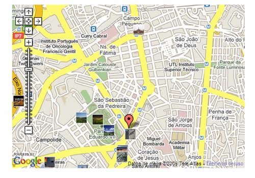 Plano de acceso de Hotel Eduardo Vii