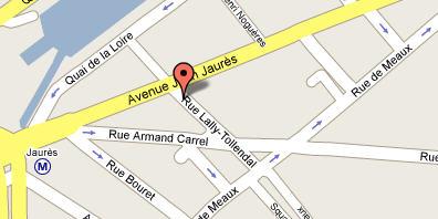 Plano de acceso de Hotel Acadia Opera