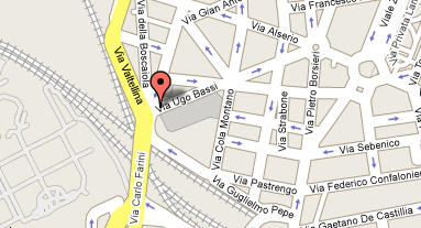 Plano de acceso de Hotel Holiday Inn Milan Garibaldi