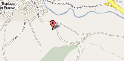 Plano de acceso de Hotel Villaengracia Htl Rural Aptos