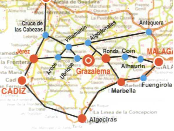 Plano de acceso de Hotel Puerta De La Villa