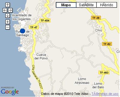 Plano de acceso de Hotel Lagos De Cesar