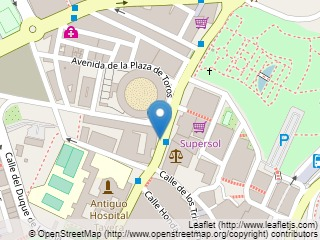 Plano de acceso de Hotel Hesperia Toledo