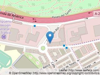 Plano de acceso de Hotel Silken Puerta Madrid