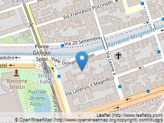 Plano de acceso de Hotel La Fortezza
