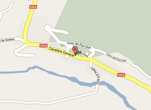 Plano de acceso de Sport Hotel Village