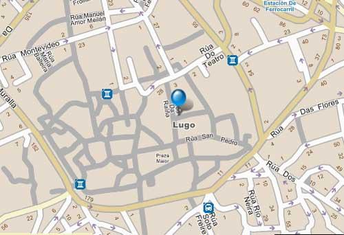 Plano de acceso de Hotel Mendez Nuñez