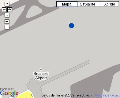 Plano de acceso de Sheraton Brussels Airport Hotel