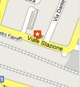 Plano de acceso de Hotel Tritone