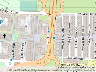 Plano de acceso de Hotel Vertice Sevilla