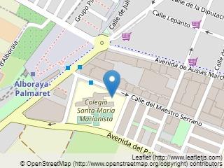 Plano de acceso de Hotel Olympia Valencia