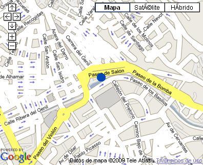 Plano de acceso de Hotel Macia Monasterio De Los Basilios