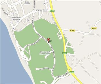 Plano de acceso de Hotel Barcelo Costa Ballena