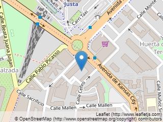 Plano de acceso de Ayre Hotel Sevilla