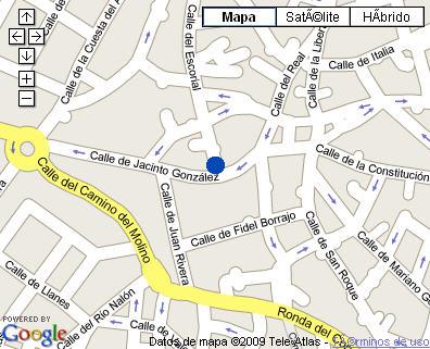 Plano de acceso de Hotel La Mansión De Navalcarnero