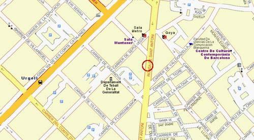 Plano de acceso de Hotel Gran Ronda