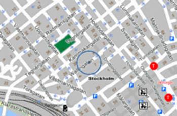 Plano de acceso de Hotel Scandic Norra Bantorget