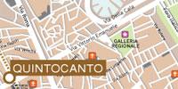 Plano de acceso de Quintocanto Hotel And Spa