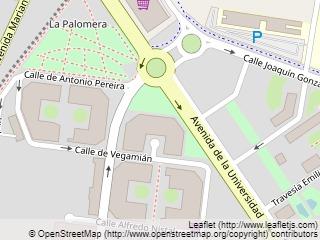 Plano de acceso de Aparthotel Campus San Mames