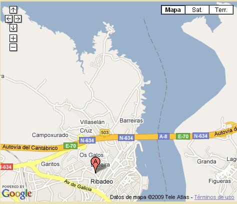 Plano de acceso de Hotel Casona De Lazurtegui