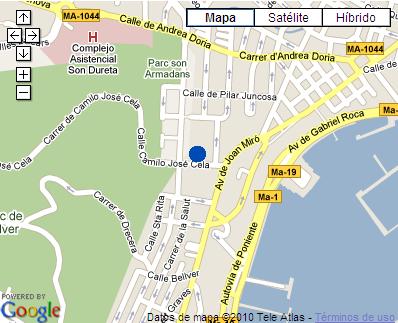 Plano de acceso de Hotel Bosque Tryp