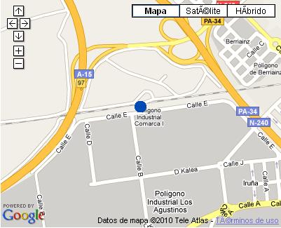 Plano de acceso de Hotel Nh Agustinos
