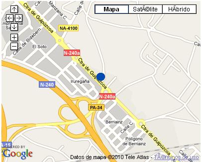 Plano de acceso de Hotel Nh El Toro