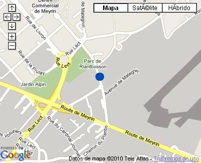 Plano de acceso de Hotel Nh Geneva Airport