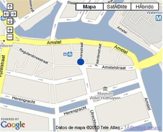 Plano de acceso de Hotel Nh Caransa