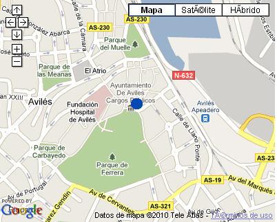 Plano de acceso de Hotel Nh Palacio De Ferrera