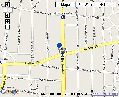 Plano de acceso de Hotel Nh Berlin City West