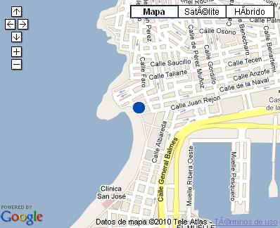 Plano de acceso de Hotel Nh Imperial Playa