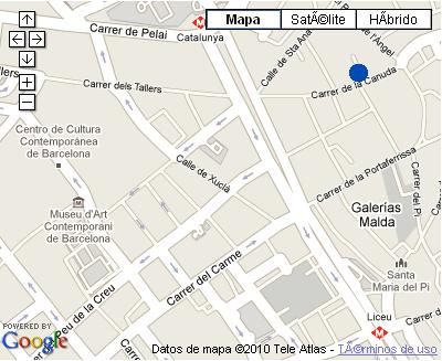 Plano de acceso de Hotel Nh Duc De La Victoria