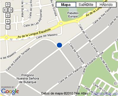 Plano de acceso de Hotel Nh Leganés