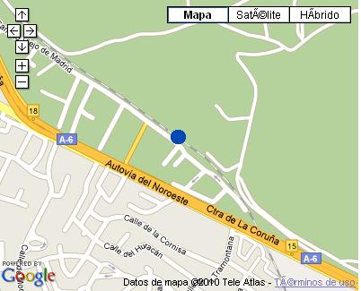 Plano de acceso de Nh Las Rozas Aparthotel