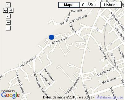 Plano de acceso de Hotel Nh Villa San Mauro