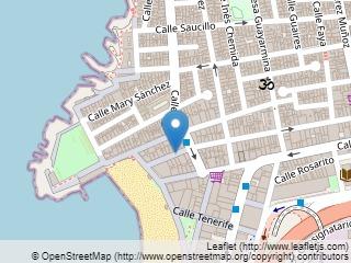 Plano de acceso de Hotel Nh Playa Las Canteras