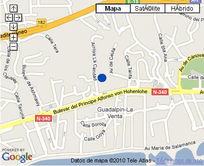 Plano de acceso de Hotel Nh Marbella
