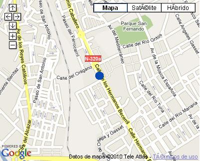 Plano de acceso de Hotel Nh Ciudad De Cuenca