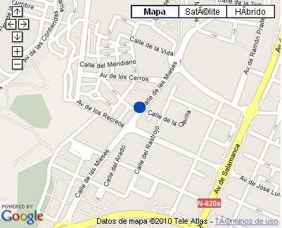 Plano de acceso de Hotel Nh Balago
