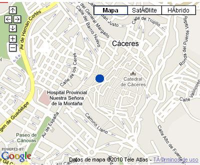 Plano de acceso de Hotel Nh Palacio De Oquendo