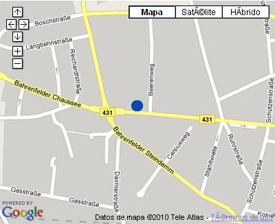 Plano de acceso de Hotel Nh Hamburg Altona