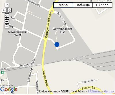 Plano de acceso de Hotel Nh Muenchen Dornach