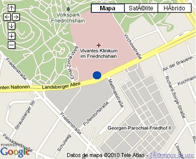 Plano de acceso de Hotel Nh Berlin Alexanderplatz