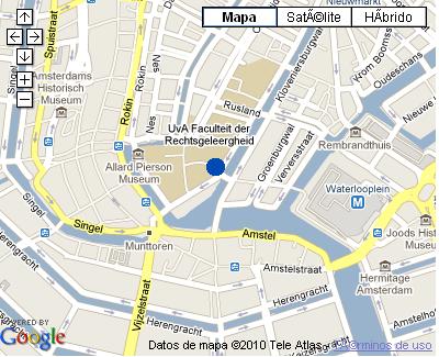 Plano de acceso de Hotel Nh Doelen