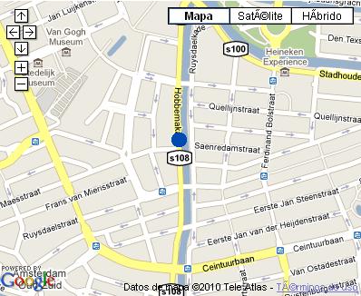 Plano de acceso de Hotel Nh Museum Quarter