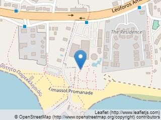 Plano de acceso de Hotel St Raphael Resort